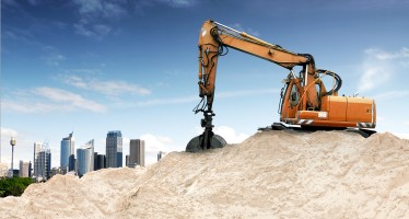 Engine cooling & air conditioning for construction vehicles